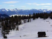 Alpes switzerland Imagem de Stock