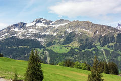 Alpes,Switzerland Royalty Free Stock Photos