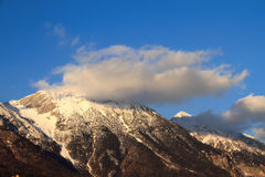 Alpes tirol l'austria Fotografia Stock Libera da Diritti