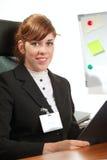 κυρία επιχειρησιακών γρ&alpha Στοκ φωτογραφία με δικαίωμα ελεύθερης χρήσης