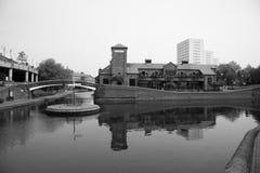 κεντρική πόλη του Μπέρμιγχ&alpha Στοκ εικόνες με δικαίωμα ελεύθερης χρήσης