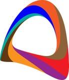Alpha Abstract Logo, progettazione di vettore di simbolo Illustrazione di Stock
