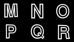 Alpha alphabet d'or emmêlé de boucle illustration de vecteur