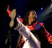 Alpha Blondy 2008 Photos libres de droits
