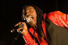 Alpha Blondy 2008 Arkivfoton