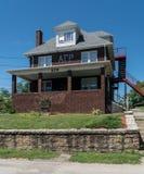 Alpha Gamma Rho Greek Housing chez Virginia University occidentale photo libre de droits