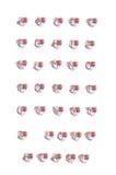 Alpha Heart Stem Stock Images