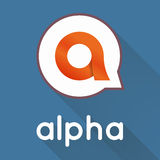 Alpha letter stylized vector Stock Images