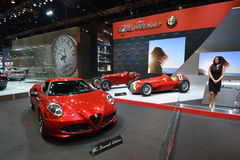 Alpha Romeo 4C Stock Photos