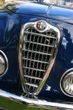 Alpha Romeo Classic Chrome Grill Lizenzfreie Stockfotografie