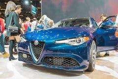 Alpha- Romeo Giulia Royalty-vrije Stock Afbeelding