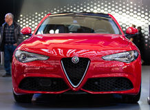 Alpha- Romeo Giulia Royalty-vrije Stock Foto