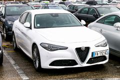 Alpha Romeo Giulia images stock