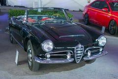 Alpha- Romeo Giulia Spider 1963 Stock Afbeelding