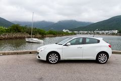 Alpha Romeo Giulietta 2012 photos stock
