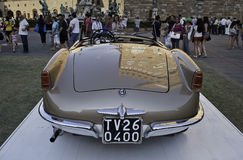 Alpha Romeo Giulietta Spider 1955 Photos stock
