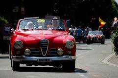 Alpha Romeo Giulietta Spider bei Mille Miglia 2016 Stockfoto