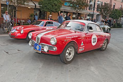 Alpha Romeo Giulietta Sprint Veloce (1961) Photo stock