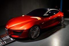 Alpha 2013 Romeo Gloria an Automobil ` useo Nazionale-engen Tals Lizenzfreie Stockfotografie