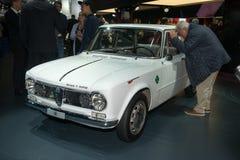 Alpha- Romeo Guilia Ti Super vanaf 1963 Stock Fotografie
