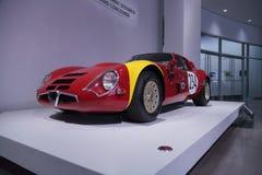 1967 Alpha- Romeo Guilia TZ2 Stock Afbeeldingen