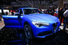 Alpha Romeo Stelvio photo libre de droits