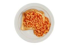 Alpha spaghetti Stock Images