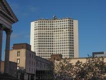 Alpha Tower a Birmingham Fotografia Stock Libera da Diritti