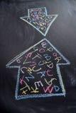 Alphabet à communiquer image libre de droits