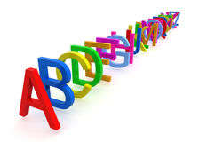 Alphabet #1 Royalty Free Stock Images