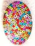 Alphabet lizenzfreies stockfoto
