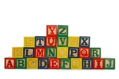 Alphabet Stock Photo