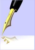 Alphabet. An illustration on the alphabet concept Royalty Free Stock Photography