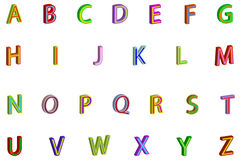 Alphabet Images stock