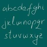 Alphabet Stockfoto