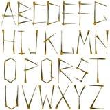 Alphabet Images stock