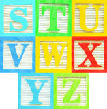 Alphabet (3) Royalty Free Stock Images