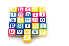 Alphabet Royalty Free Stock Images