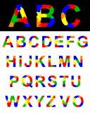 Alphabet lizenzfreie abbildung