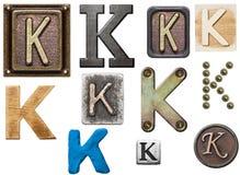 Alphabet Stockbild