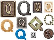 Alphabet stockfotografie