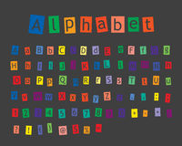 Alphabet Stock Image