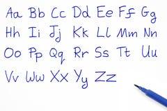 The alphabet. Stock Image