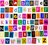 Alphabet Royalty Free Stock Photos