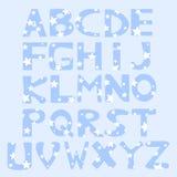 Alphabet. An illustration of an alphabet Stock Illustration