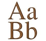 Alphabet Image stock