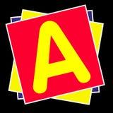 Alphabet. Stack of a,b,c stock photos
