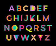 Alphabet Photographie stock