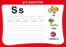 Free Alphabet A-z Exercise With Cartoon Vocabulary Stock Photo - 164182370