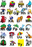 Alphabet anglais Photo libre de droits